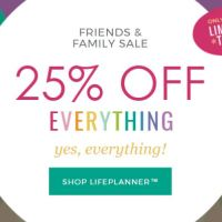 25% Off Everything Erin Condren!